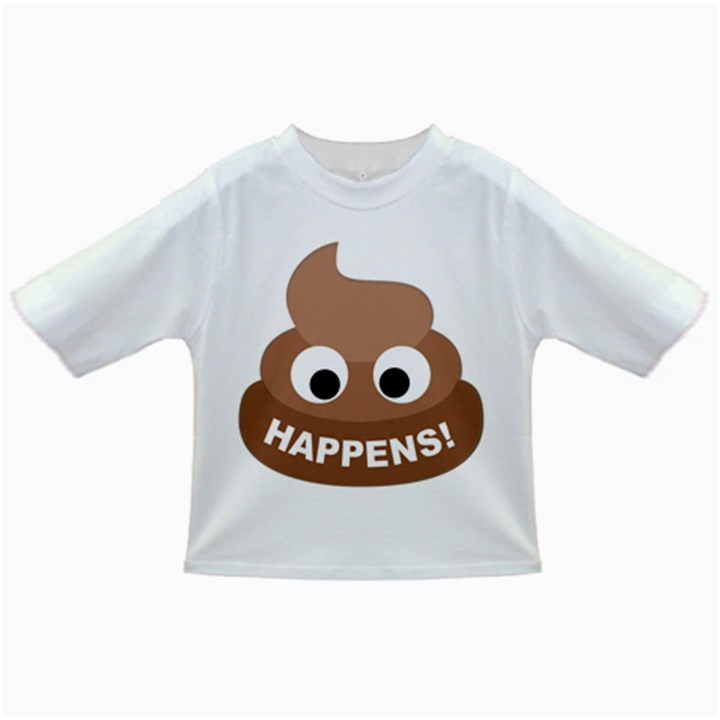 Poo Happens Infant/Toddler T-Shirts