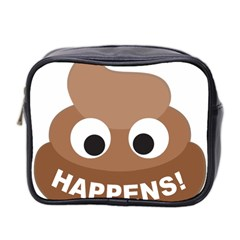 Poo Happens Mini Toiletries Bag 2 Side by Vitalitee