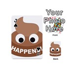 Poo Happens Playing Cards 54 (Mini)  Front - SpadeJ