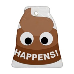 Poo Happens Ornament (bell)