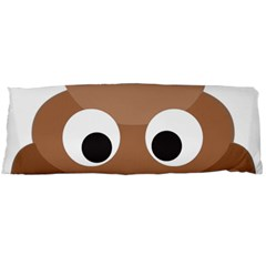 Poo Happens Body Pillow Case (dakimakura) by Vitalitee