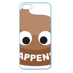 Poo Happens Apple Seamless Iphone 5 Case (color) by Vitalitee