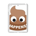 Poo Happens iPad Mini 2 Enamel Coated Cases Front