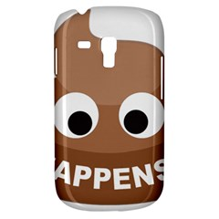 Poo Happens Galaxy S3 Mini by Vitalitee