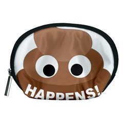 Poo Happens Accessory Pouches (medium)  by Vitalitee