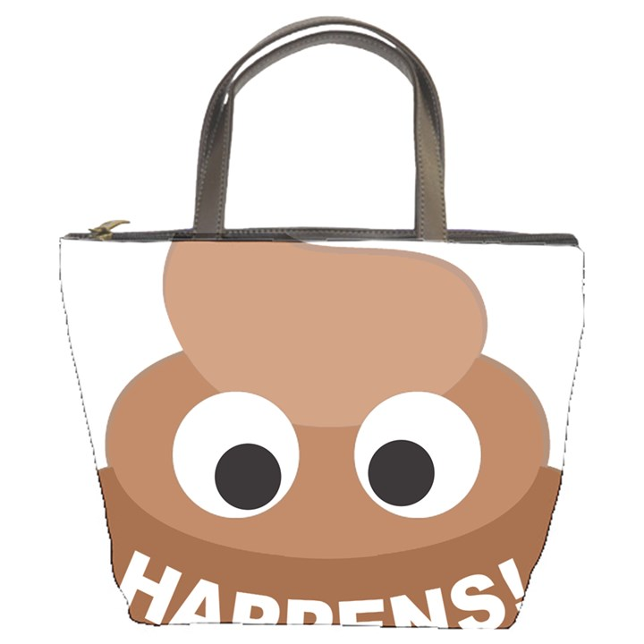 Poo Happens Bucket Bags