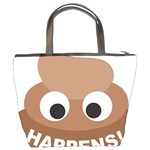 Poo Happens Bucket Bags Back