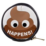Poo Happens Mini Makeup Bags Front