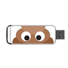 Poo Happens Portable Usb Flash (two Sides) by Vitalitee