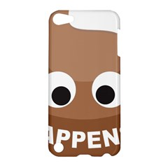 Poo Happens Apple Ipod Touch 5 Hardshell Case by Vitalitee