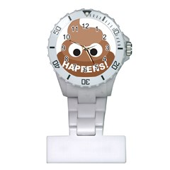 Poo Happens Plastic Nurses Watch by Vitalitee