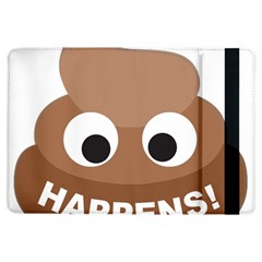 Poo Happens Ipad Air Flip by Vitalitee