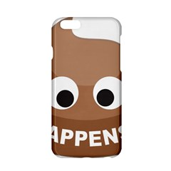Poo Happens Apple Iphone 6/6s Hardshell Case