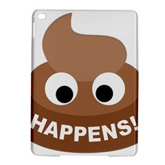 Poo Happens Ipad Air 2 Hardshell Cases by Vitalitee