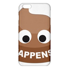 Poo Happens Iphone 6 Plus/6s Plus Tpu Case by Vitalitee