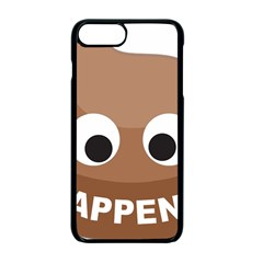 Poo Happens Apple Iphone 7 Plus Seamless Case (black) by Vitalitee