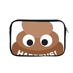 Poo Happens Apple Macbook Pro 13  Zipper Case
