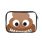 Poo Happens Apple MacBook Pro 15  Zipper Case Front