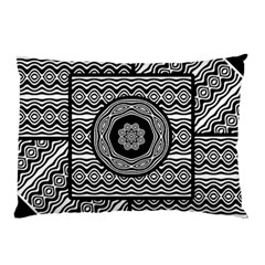 Wavy Panels Pillow Case by linceazul