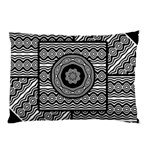 Wavy Panels Pillow Case (Two Sides) Back