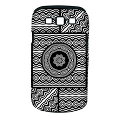Wavy Panels Samsung Galaxy S Iii Classic Hardshell Case (pc+silicone)
