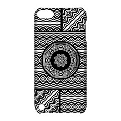 Wavy Panels Apple Ipod Touch 5 Hardshell Case With Stand by linceazul