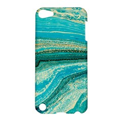 Mint,gold,marble,nature,stone,pattern,modern,chic,elegant,beautiful,trendy Apple iPod Touch 5 Hardshell Case