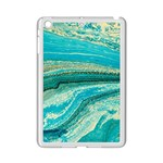 Mint,gold,marble,nature,stone,pattern,modern,chic,elegant,beautiful,trendy iPad Mini 2 Enamel Coated Cases Front