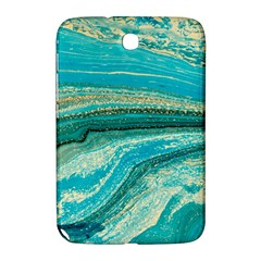 Mint,gold,marble,nature,stone,pattern,modern,chic,elegant,beautiful,trendy Samsung Galaxy Note 8 0 N5100 Hardshell Case  by 8fugoso