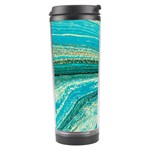 Mint,gold,marble,nature,stone,pattern,modern,chic,elegant,beautiful,trendy Travel Tumbler Center