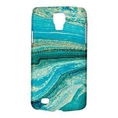 Mint,gold,marble,nature,stone,pattern,modern,chic,elegant,beautiful,trendy Galaxy S4 Active