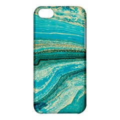 Mint,gold,marble,nature,stone,pattern,modern,chic,elegant,beautiful,trendy Apple iPhone 5C Hardshell Case