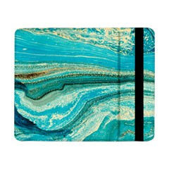 Mint,gold,marble,nature,stone,pattern,modern,chic,elegant,beautiful,trendy Samsung Galaxy Tab Pro 8.4  Flip Case