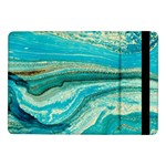 Mint,gold,marble,nature,stone,pattern,modern,chic,elegant,beautiful,trendy Samsung Galaxy Tab Pro 10.1  Flip Case Front