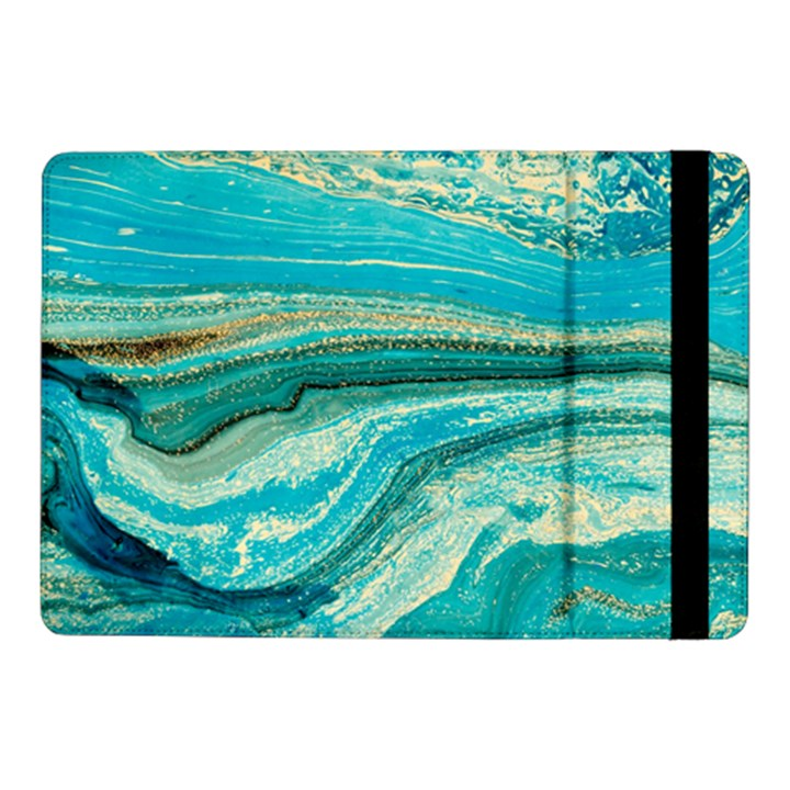 Mint,gold,marble,nature,stone,pattern,modern,chic,elegant,beautiful,trendy Samsung Galaxy Tab Pro 10.1  Flip Case