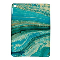 Mint,gold,marble,nature,stone,pattern,modern,chic,elegant,beautiful,trendy Ipad Air 2 Hardshell Cases by 8fugoso