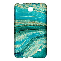 Mint,gold,marble,nature,stone,pattern,modern,chic,elegant,beautiful,trendy Samsung Galaxy Tab 4 (7 ) Hardshell Case