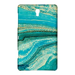 Mint,gold,marble,nature,stone,pattern,modern,chic,elegant,beautiful,trendy Samsung Galaxy Tab S (8.4 ) Hardshell Case
