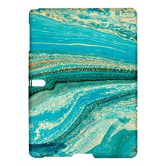 Mint,gold,marble,nature,stone,pattern,modern,chic,elegant,beautiful,trendy Samsung Galaxy Tab S (10.5 ) Hardshell Case