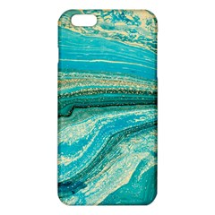 Mint,gold,marble,nature,stone,pattern,modern,chic,elegant,beautiful,trendy iPhone 6 Plus/6S Plus TPU Case