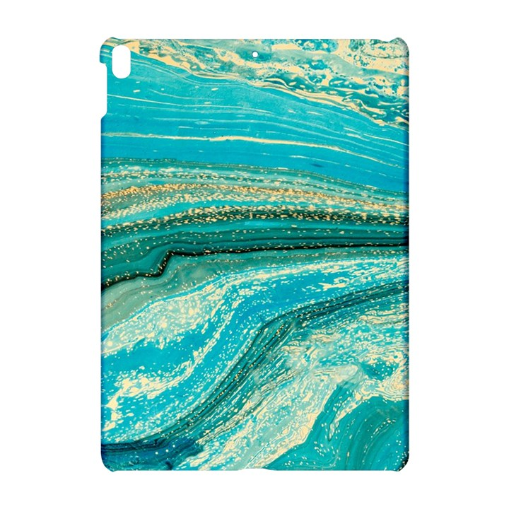 Mint,gold,marble,nature,stone,pattern,modern,chic,elegant,beautiful,trendy Apple iPad Pro 10.5   Hardshell Case