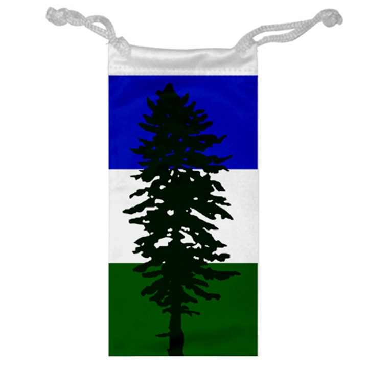 Flag of Cascadia Jewelry Bag