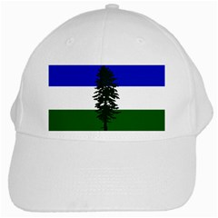 Flag Of Cascadia White Cap by abbeyz71