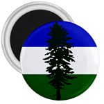 Flag of Cascadia 3  Magnets Front