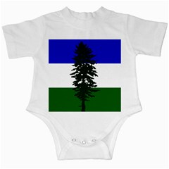 Flag Of Cascadia Infant Creepers by abbeyz71