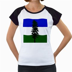 Flag Of Cascadia Women s Cap Sleeve T by abbeyz71