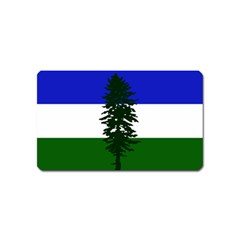 Flag Of Cascadia Magnet (name Card) by abbeyz71