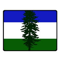 Flag Of Cascadia Fleece Blanket (small)