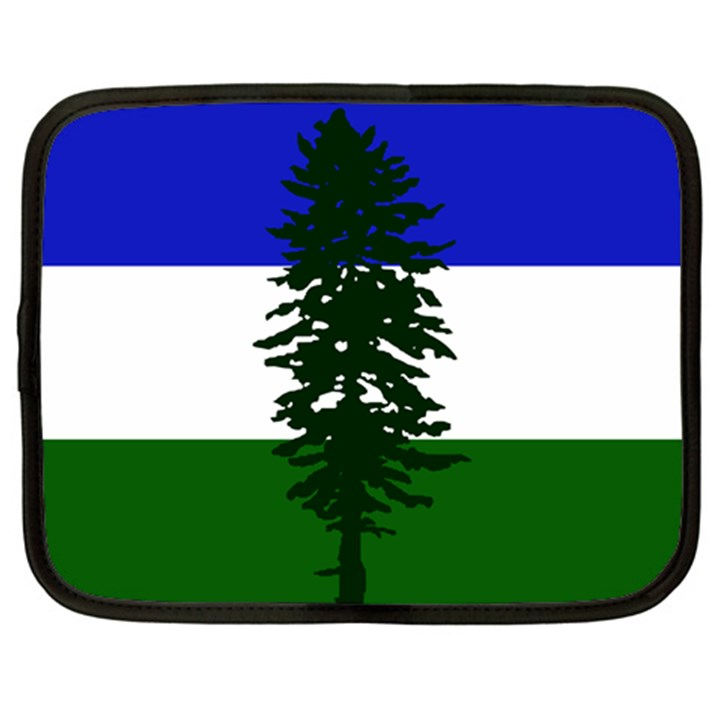 Flag of Cascadia Netbook Case (Large)
