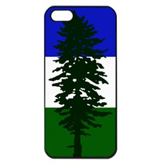 Flag Of Cascadia Apple Iphone 5 Seamless Case (black) by abbeyz71